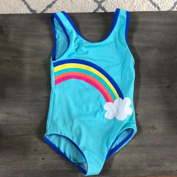 c62c23ded8d82 Mini Boden Rainbow 🌈 Bathing Suit. M 5b5b7efa2aa96a4b69001f2a